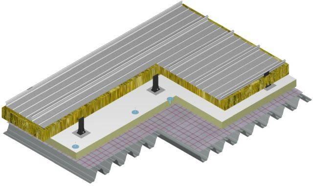 Kalzip Low U-Value Structural Deck System