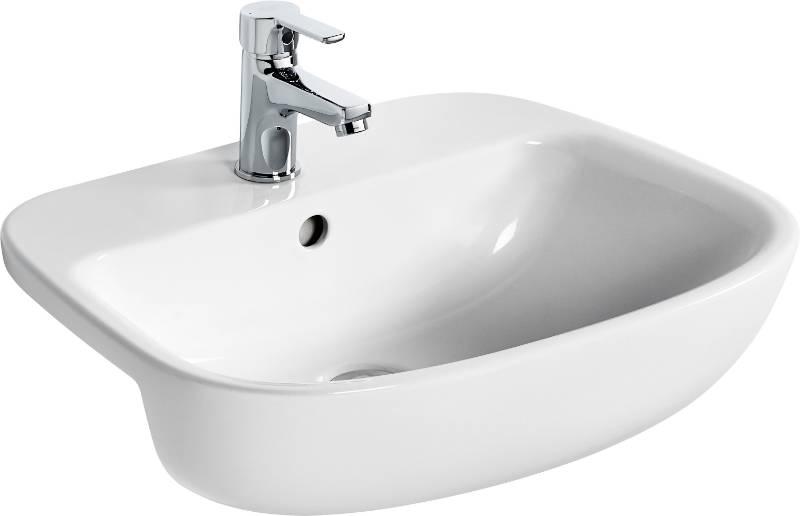 Studio Echo Semi-Countertop Basin 55X43 White BXD