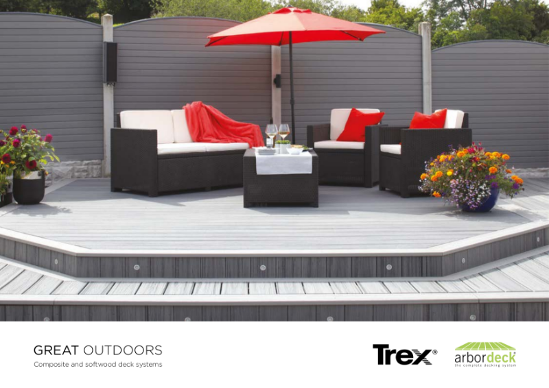 Trex Composite Decking Lifestyle Brochure