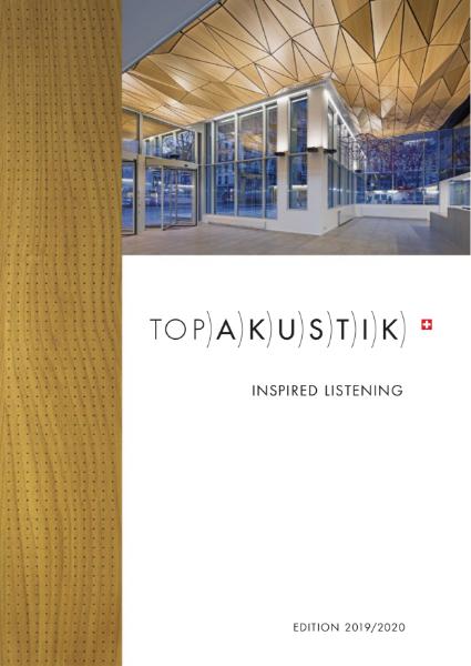 Topakustik & Topperfo Product Brochure