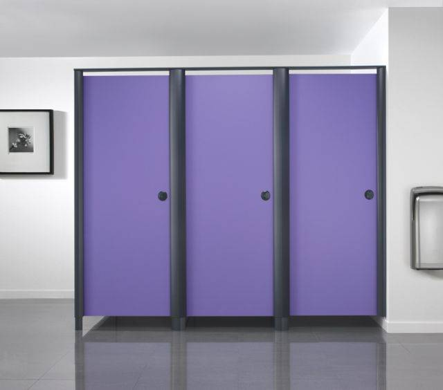Aero Powder Coat SGL Panel Cubicle