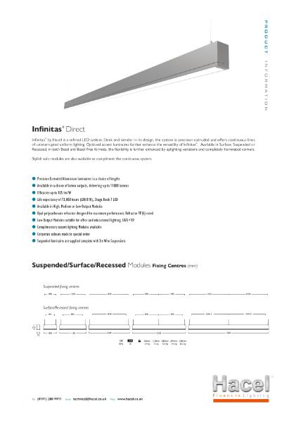 Infinitas® Continuous System