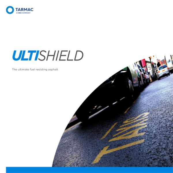 Fuel resisting asphalt