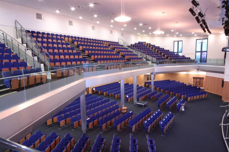 Villa Cross Church of God Prophecy Auditorium Seating