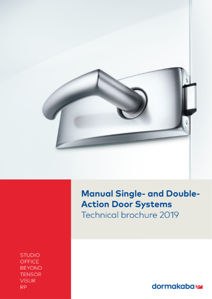 Manual Single & Double Action Door Systems