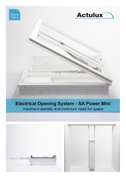 Actulux Electrical Systems Product Sheet