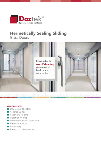 9.2. Dortek Hermetically Sealing Sliding Glass Door