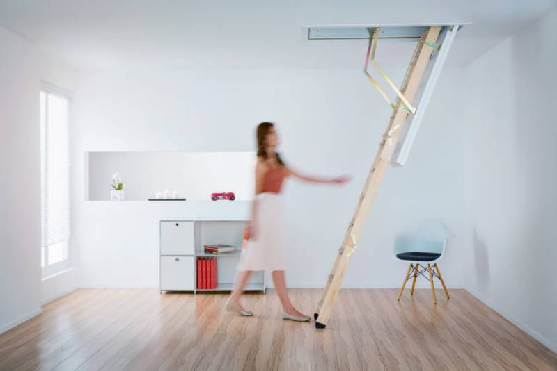 Cadet 3 Wooden Loft Ladder available on NBS Plus