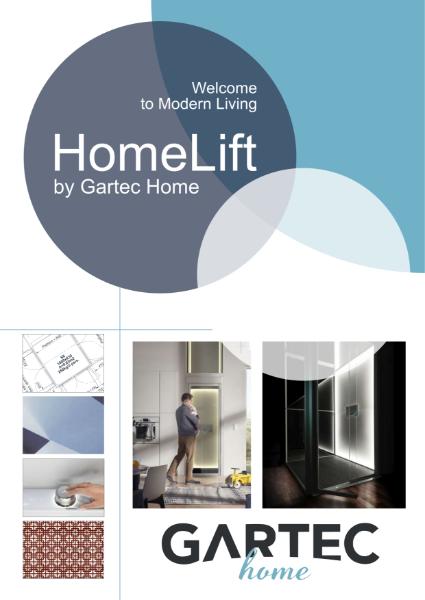 Gartec HomeLift Brochure - Smart Residential Passenger Platform Lift