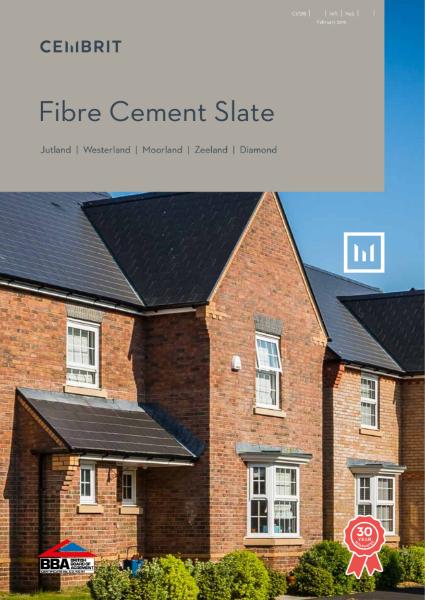 Cembrit fibre cement slate brochure