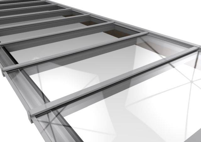 SkylineBox Patent Glazing System