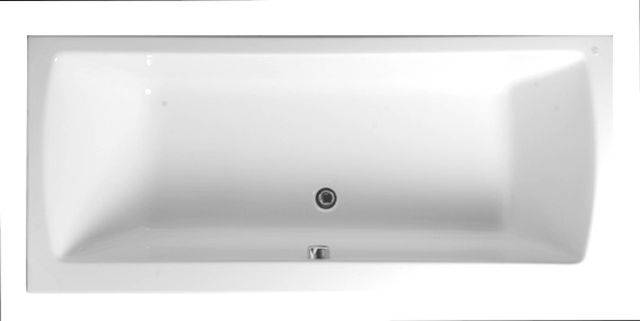 VitrA Neon 1800 x 800 mm Double-ended Bath, 52540001000
