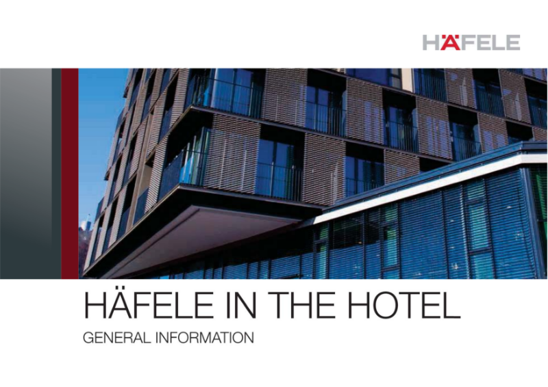 Access Control - Hafele in the Hotel