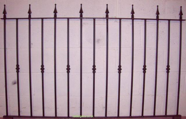 ASF Colne Steel Railings