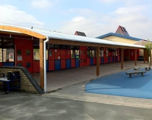 Redriff Primary School - Timber Canopy