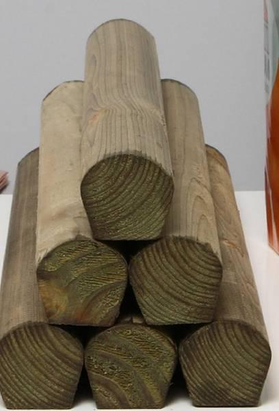 Wood Cored Roll