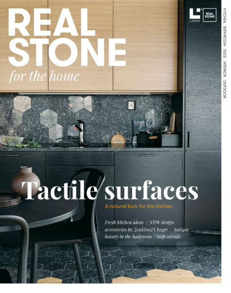 Lundhs Real Stone magazine - stone for the home