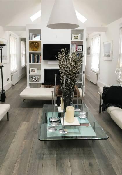 Bespoke designer flooring for a rustic vibe
