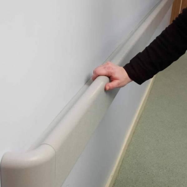 Anti-ligature PVC Handrail