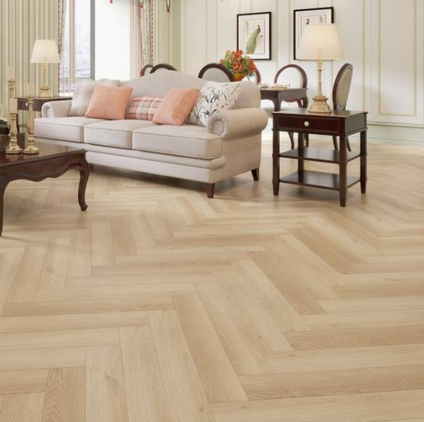 Impervia® Luxury Vinyl Herringbone - Rigid Stone Composite Flooring