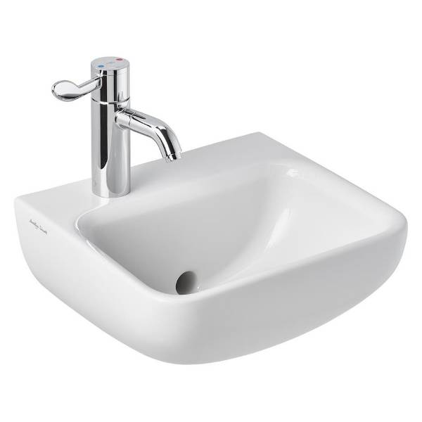Contour 21+ 40cm Back Outlet Washbasin