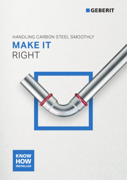 Geberit Make it Right - Carbon Steel Brochure
