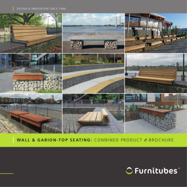 Combined Wall-top & Gabion Seating Brochure
