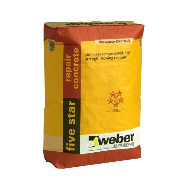 webercem five star repair concrete