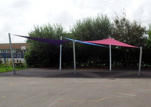 Our Lady of Pity Catholic Primary School - Shade Sail Array