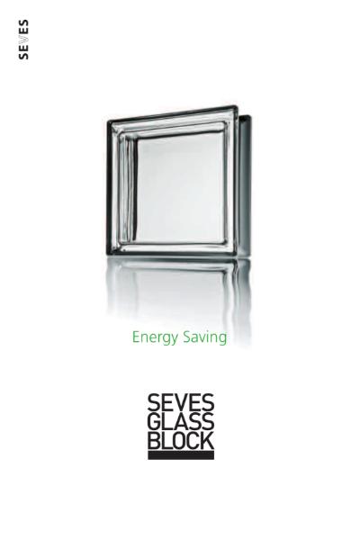 Seves Glass Block Energy Saving Catalogue