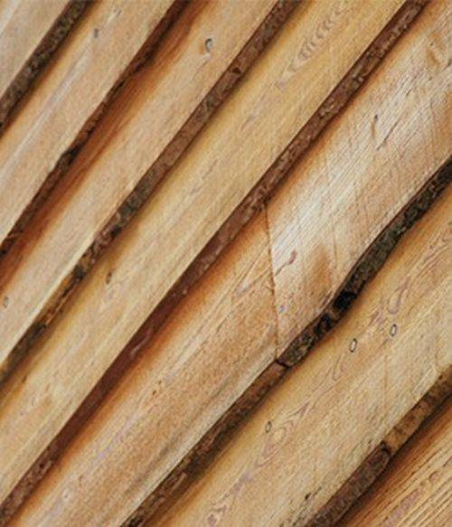 British Larch Sawn External Cladding