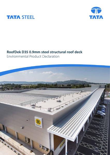 EPD RoofDek D35 0.9mm