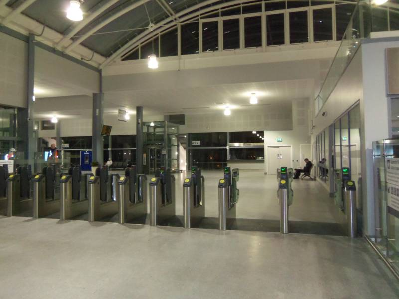 Haymarket Station in Edinburgh
