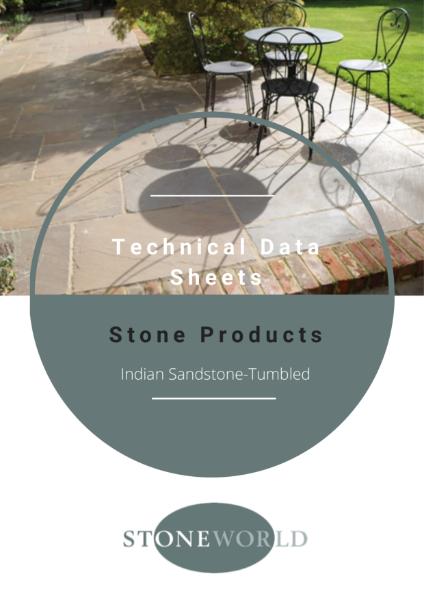 Stoneworld Technical Data Sheets Indian Sandstone-Tumbled
