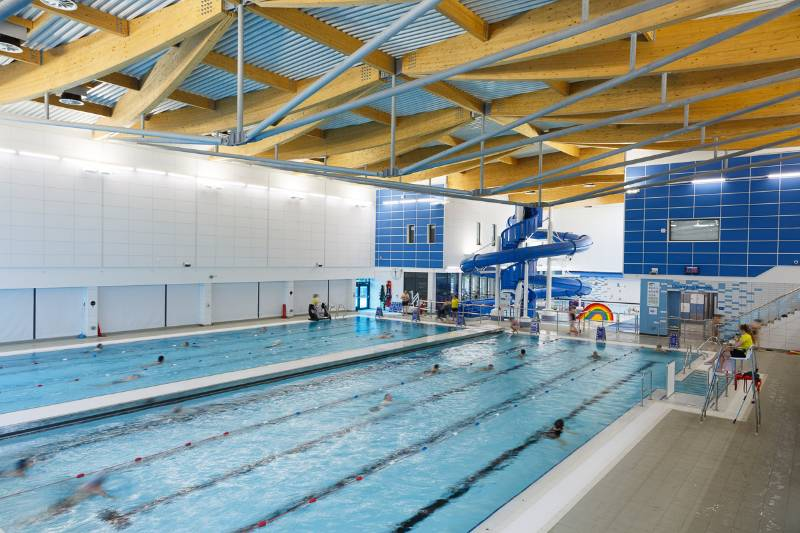 Rockfon works out at exciting new energy efficient Chelmsford leisure centre