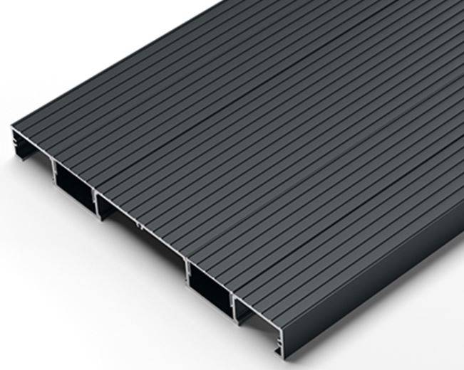 Adek Aluminium Decking Board: Enhanced Grip 295 Board