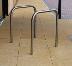 Sheffield Cycle Stand - Galvanized Steel