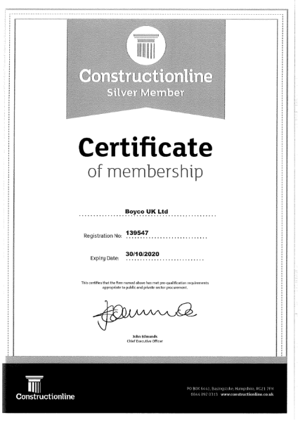 BOYCO UK - Construction Line