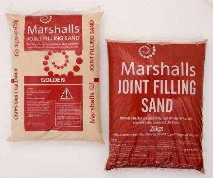 Joint Filling Sand