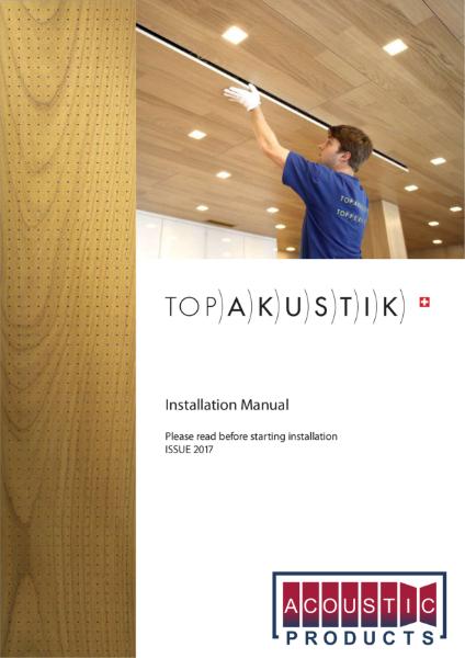 Topakustik Installation Guide