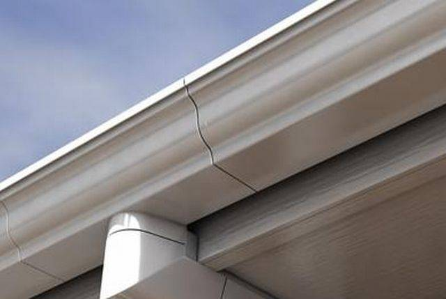 Aqualine 140 mm Moulded gutter