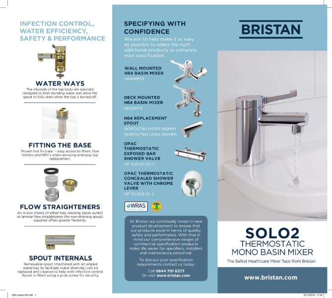 Thermostatic Basin Taps