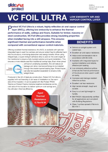 Glidevale Protect VC Foil Ultra