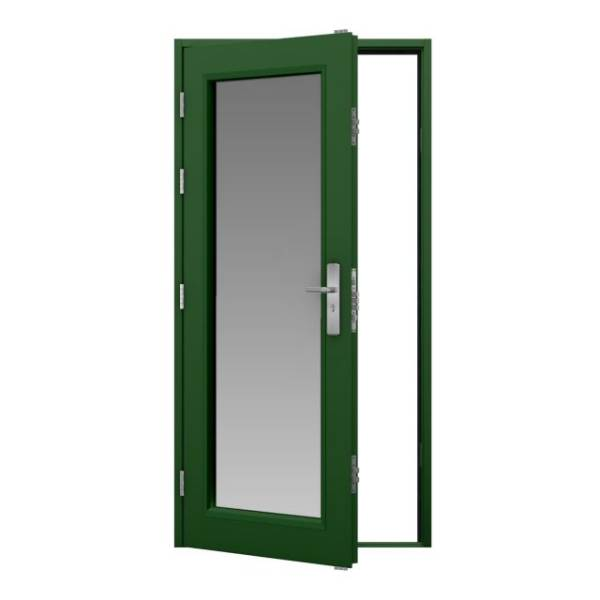 Glazed Steel Door (Security)