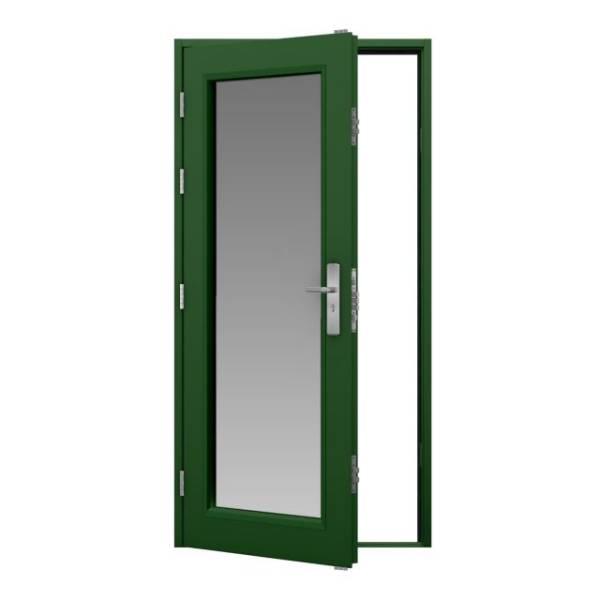 Glazed Steel Door (Security)