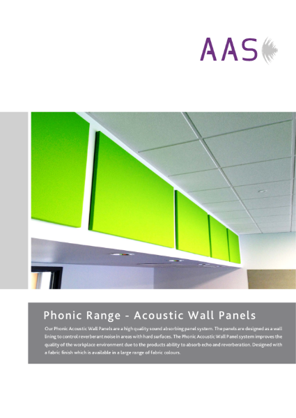 Phonic - Acoustic Panels