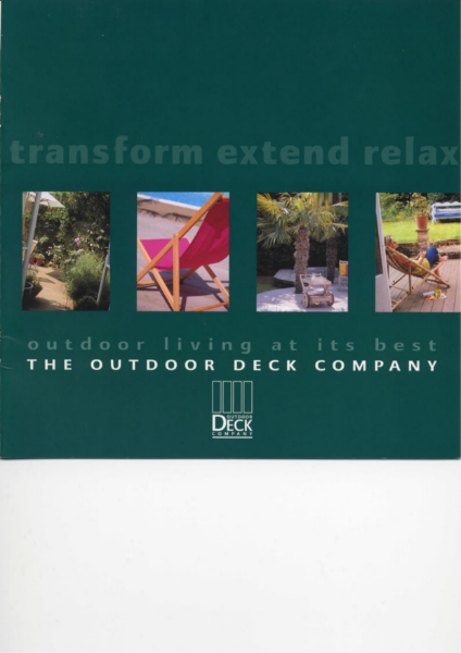 The Outdoor Deck Company Brochure