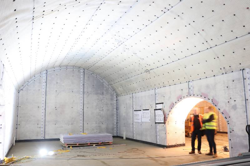 Listed Vault Waterproofing in Central London