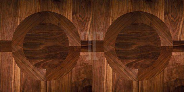 PARQUETRY Collection - Concentric Design Panel