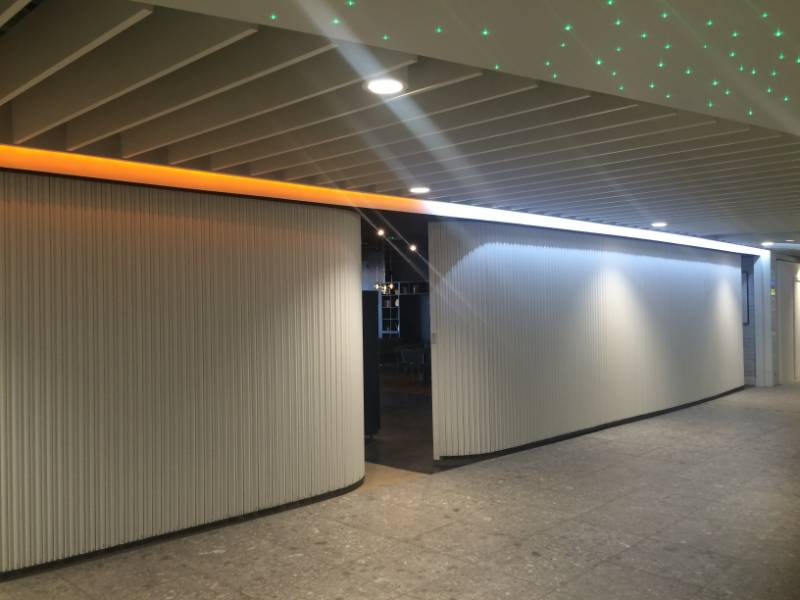 Bolton Gate's Contour Shutters provide fire and security at Newcastle International Airport Duty-Free Area